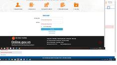 Hướng dẫn thay đổi hồ sơ thương nhân Website