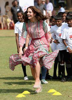 Kate Middleton Photos - The Duke & Duchess of Cambridge Visit India & Bhutan - Day 1 - Zimbio