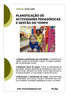 ufcd 3282. Planificação de actividades pedógicas e gestão do tempo