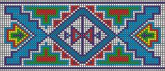 This site has link to book you can purchase. The patterns look great. Native American Beadwork Patterns Free | American Indian Beadwork