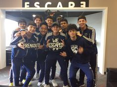 This group from Cy-Springs Soccer narrowly escaped arrest by the notorious sheriff Brutus McLarren in 60 minutes!