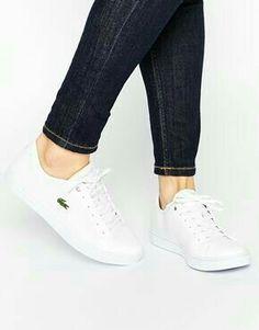 01a0f78d3 Sneakers Blanco, Lacoste Sneakers, Lacoste Shoes Women, Adidas Sneakers,  Shoes Sneakers,