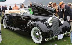 1936 Delage D8 120 Chapron Cabriolet