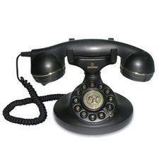 Teléfono fijo analógico. Para dar un toque retro al interior de la casa.