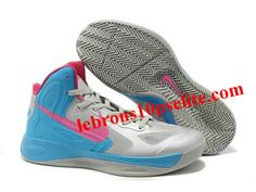 timeless design f2a0f 6b021 Nike Zoom Hyperfuse 2012 Jeremy Lin Shoes Gray Blue Pink