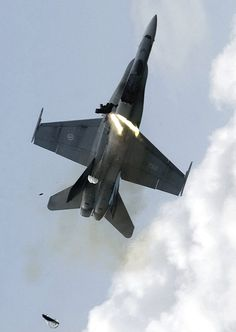 ejection from canadian F18