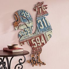 @ Pansy  Sunday Drive Rooster Wall Art from Through the Country Door®