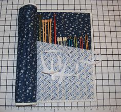 Tutorial Tuesday – Knitting Needle Case | Sew BitterSweet Designs