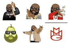 That's the Rick Ross pear emoji of your dreams, right?Available through the Moji Keyboard app on iOS for $0.99.