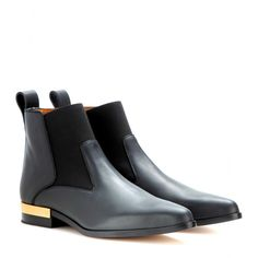 mytheresa.com - Chelseaboots Drew aus Leder - Flacher Absatz - Stiefeletten - Schuhe - Luxury Fashion for Women / Designer clothing, shoes, ...