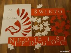 Poland, Crafts For Kids, Flag, Wall Art, Bulletin Boards, Christmas, Diy, Paper, Crafts For Children