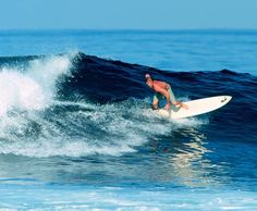Surfing at Troncones Point in Manzanillo Bay