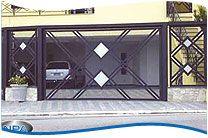Portões de Tela de Aço