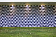 Athos Bulcão _ Painel de Azulejos, 1958 - Brasilia Palace Hotel