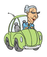 from:  http://animationsa2z.com/elderly.php  animated gifs of old woman driving car