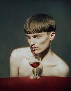 Les Autoportraits Intriguants De Marwane Pallas