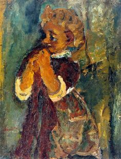 Chaïm Soutine (13 ianuarie 1893 – 9 august 1943), pictor rus Child in Red