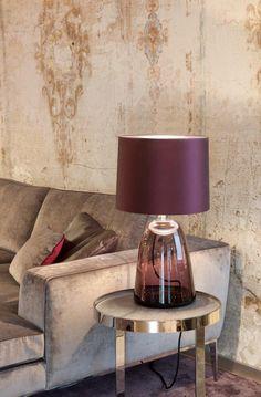 KELLY Tischleuchte Glas mundgeblasen by Christine Kröncke interiordesign GmbH