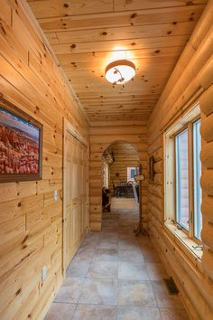 interior wood paneling | Knotty Pine Wall Paneling | New Home ...