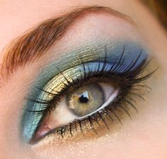 Padmita's Make Up Blog: Streak of Gold