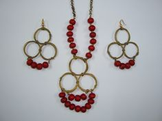 Necklace: Rs.450  Earings: Rs. 200 - #Sold  Code: JUNK00161N  Code: JUNK00161E  Place order at: mansoorqainat@gmail.com