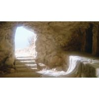 The Resurrection of Christ by J. You seek Jesus of Nazareth, who was crucified. He is risen! See the place where they laid. Empty Tomb Image, What Did Jesus Do, Georg Gänswein, Johannes 3, La Passion Du Christ, Image Jesus, He Has Risen, Matthew 28, The Face