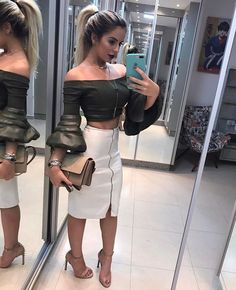 Cute fashion outfits ideas – Fashion, Home decorating Fashion Night, Love Fashion, Girl Fashion, Fashion Dresses, Fashion Looks, Womens Fashion, Simple Outfits, Sexy Outfits, Girl Outfits