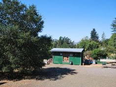 Shed on property
