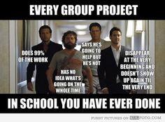 Group projects. Nurse humor. Nursing funny. Registered Nurse. RN. Nursing school problems. Hangover meme.