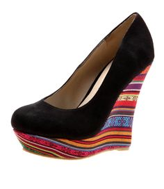 Peruvian Black Micro Suede/Fabric from Therapy