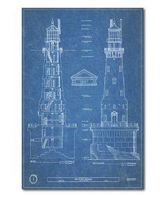 1903 wright flyer blueprint bi plane art print multiple sizes on courtside market lighthouse blueprint iv wrapped canvas zulily malvernweather Image collections