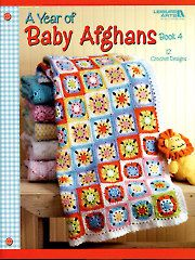Baby & Kids Crochet Blankets - A Year of Baby Afghans
