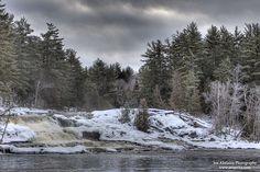 Wilson's Falls - #Bracebridge #Ontario #Waterfalls