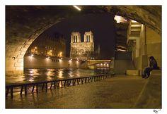 notre dame de paris / quai de la seine