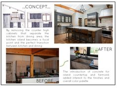 Kitchen: from concept to completion  @redesignhomellc.com