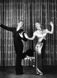 Fred Astaire and Ginger Rogers by James Doolittle, 1936