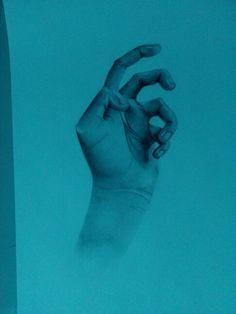 My hand_grafite
