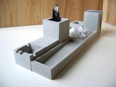 Concrete office set