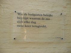 Mooie tekstjes in Brugge, deel 2.