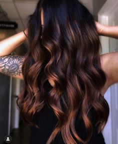 Brown Hair Balayage, Hair Highlights, Color Highlights, Hair Painting, Brunette Hair, Brunette Color, Brown Hair Colors, Gorgeous Hair, Dark Hair