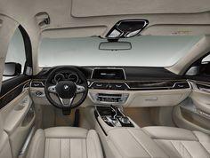 New 2016 BMW 750 Li.