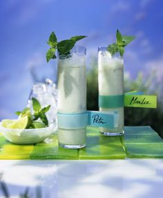 Buttermilch-Limetten-Drink