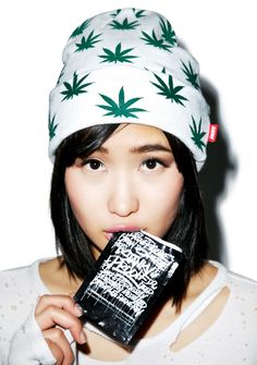 D9 Reserve All Over MaryJane Beanie weed asian Fashion Streetwear Urbanwear Outfit Ideas Style follow //UnitedNationz// for our latest Streetwear