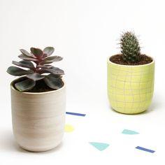 P O T – D E – F L E U R S // planter / macrame / idée cadeau pot de fleurs / offrir du Printemps / décoration intérieure / de la boutique CamilleetClementine sur Etsy