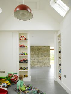 Tullow Barn House Design, Bungalow Renovation, Bookcase, Cottage, Layout, Shelves, Architects, Exterior, Home Decor