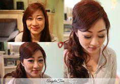 ASIAN BRIDE WEDDING MAKEUP ARTIST   LINH MAKEUP SESSION   ANGELA TAM >> WEDDING MAKEUP AND HAIR TEAM » Angela Tam   Makeup Artist & Hair Stylist Team   Wedding & Portrait Photographer