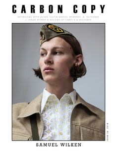 Carbon Copy # 26 - The Zine Stand British Style Men, Carbon Copy, Mens Fashion Magazine, Editorial Fashion, Men Editorial, Male Models, Interview, Actors, Male Fashion
