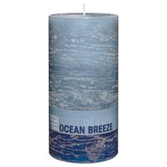 This candle features an array of calming grey tones and texture. Display in your favorite candle holder to complete a modern centerpiece. Bouclair, Scented Pillar Candles, Modern Centerpieces, Deco, Candle Holders, Display, Taper Candles, Floor Space, Billboard