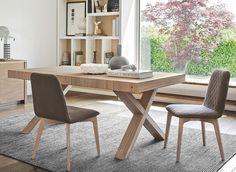 TWO stół drewniany, 180x100cm, rozkładany - CALLIGARIS boutique - nowoczesne włoskie meble, krzesła, stoły, stoły rozkładane, stołki barowe, kanapy, fotele, dywany, szkło, design, warszawa, hokery, sklep calligaris jednomarkowy