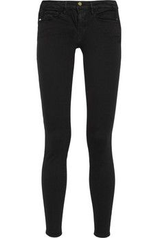Frame Denim Le Skinny de Jeanne mid-rise skinny jeans   NET-A-PORTER